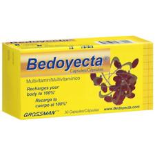 (5 pack) VITAMINS: Bedoyecta Capsules with 30  caps ea