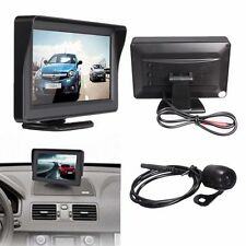 "Digital Car Rear View Kit 4.3"" Lcd Monitor w/170"