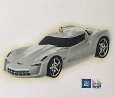 Hallmark 2009 Corvette StingRay Concept Die-Cast Classic Cars Complmnt Ornament