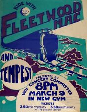 0542 Vintage Music Poster Art - Fleetwood Mac In Concert