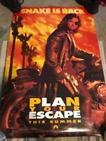 Escape From L.A. Double Sided 40x27 Advance Theater Poster