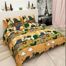 Soft 500TC Double Bed Sheet Queen Set Size 90*100Inches