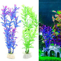 Aquarium Artificial Plastic Plant Underwater Grass Fish Tank Ornament Decoration