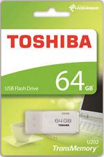 Pendrive bianco Toshiba da 64 GB