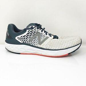 New Balance Mens Fresh Foam Vongo V3 MVNGOWP3 Black White Running Shoes Sz 14 D