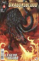 Dragonsblood Legend of Sigurd #1 CVR D Image Comic 1st Print 2019 NM unread