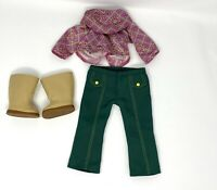 American Girl Ivy's Meet Outfit NEW Top Pants Boots