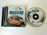 NASCAR 2001 (Sony PlayStation 1, 2000) Complete w/ Manual - Free Shipping