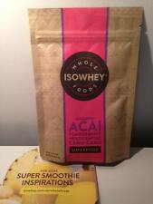 Isowhey Organic Acai, Pomegranate and Camu-Camu powder