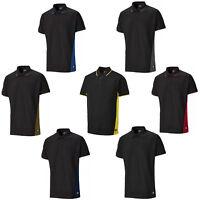 Dickies Two Tone Polo Shirt Short Sleeve 3 Button Work Mens T-Shirt SH2004