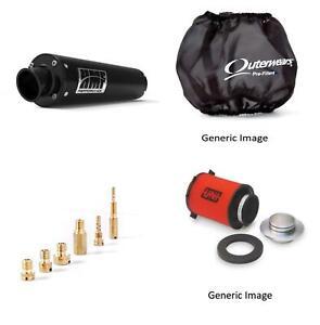 Jet Kit,Pre Filter, Filter and Black Exhaust for Yamaha Raptor 660 2001-2005