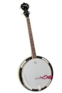 Tanglewood TWB 18 M4 Tenor Banjo - Irish Tuned GDAE + Free TGI Padded Gig Bag