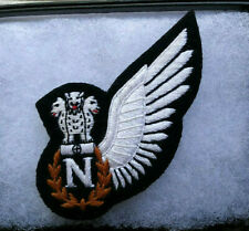 INDIAN AIR FORCE NAVIGATOR'S  HALF WING, CLOTH, FULL-SIZED, SPREAD FEATHERS