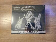 Pokemon Burning Shadows Elite Trainer Box Sealed