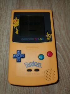 Console Nintendo Game Boy Color Pokemon Tbe