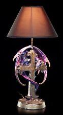 Dragones Lámpara de mesa con cruz - COLORES - FANTASY Drachenwächter noche