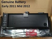 """77.5Wh Genuine A1382 Battery for Apple MacBook Pro Unibody 15"""" A1286 2011 2012"""