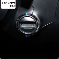 BMW E60 5 Series Carbon Fiber M Stripe Car Engine Ignition Keyhole Ring Stickers