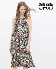 Womens Boho Dress Shift Floral Size 12 NEW
