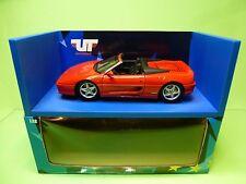 UT MODELS 74030 FERRARI F 355 SPIDER 1994 - RED 1:18 - EXCELLENT IN BOX