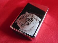 Tiger Engraved Lighter with Gift Box - FREE ENGRAVING