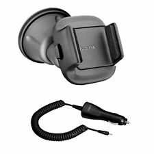 NEW GENIUNE NOKIA CAR SOLUTION UNIVERSAL PHONE HOLDER CR-114 WITH CHARGER DC-4