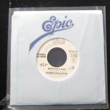 "Gilbert O'sullivan - What's In A Kiss 7"" VG+ 19-50967 Vinyl 45 Promo 1980"