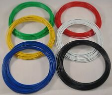 60m Dropper Wire 3A 16/0.2 DCC Layout Wire 10m x 6 colours