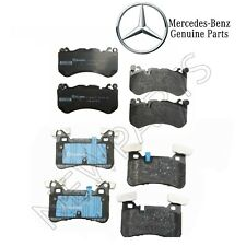 For Mercedes W204 W212 C63 AMG E63 AMG Set of Front & Rear Brake Pad Set
