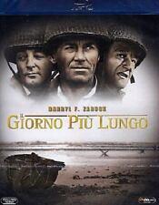 Blu Ray • Il Giorno più Lungo JOHN WAYNE HARRY FONDA OSCAR ITALIANO NUOVO