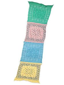 Kapital Milling Wool Muffler Pastel Bandana Cross Scarf Stole NEW