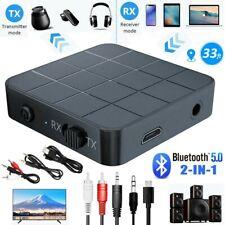 Bluetooth 5.0 Musik Stereo Sender Adapter Receiver Transmitter Audio Empfänger