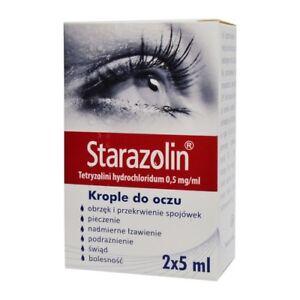Starazolin 0.05%, eye drops, 2x5ml - similar to Visine