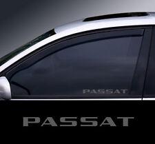 2 x VW Passat Glass Effect Window Decal, Sticker, Graphic(1)