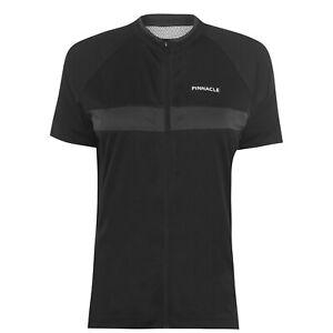 Pinnacle Race Short Sleeve Cycling Jersey Ladies Performance Shirt Zip Classic