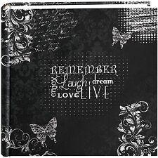 "Pioneer Photo Albums 200-Pocket Chalkboard Printed ""Remember"" Theme Photo Alb..."