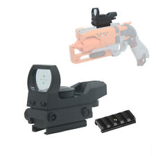 Tactical CQB Scope Sight Green Cross Dot Reflex for Worker Rail Mount Modify Toy