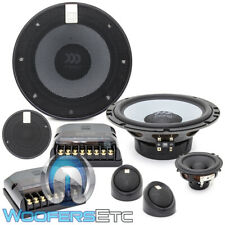 "MOREL MAXIMO ULTRA 603 MKII 6.5"" 3-WAY COMPONENT SPEAKERS TWEETERS CROSSOVERS"