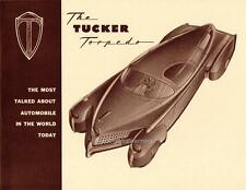 Old Print.  Tucker Torpedo Automobile Brochure