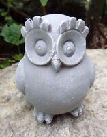 Latex owl mold plaster concrete animal bird casting mould
