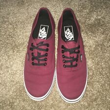 Vans Authentic maroon size 6.5 great condition