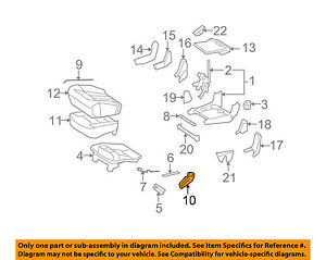 Mercedes MERCEDES-BENZ OEM Rear Seat-Release Handle/Lever Right 16492012649051