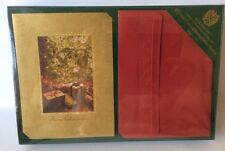 Burgoyne Luxury Christmas Cards 40 With Envelopes Trees And Presents New