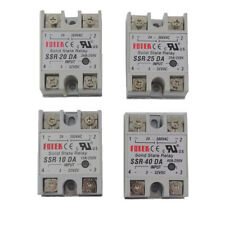 1Pcs Solid State Relay SSR-10DA SSR-25DA SSR-40DA 3-32VDC TO 24-380V AC