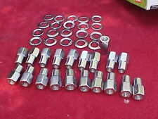 20,1/2 x20 nhra open end mag wheel lug nuts,cragar with centered washers,rat