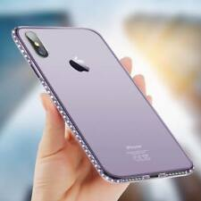 Luxury Diamond Ultra-thin Soft Silicone TPU Case Cover For iPhone 8 X 5 6 7 Plus