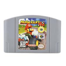 Mario Kart 64 Game Card Playing For N64 Nintendo 64 US Version Game Gift Fun