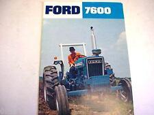 Ford 7600 Farm Tractor Brochure  *