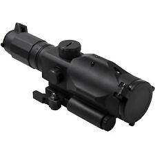NcSTAR VSRTM3940GV3 GEN3 Green Laser Mil-Dot Tactical Rifle Scope 3-9X40