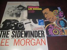 LEE MORGAN CANDY BN-1590 - SIDEWINDER + CD & CHASISMA BLUE NOTE  LIMITED 3 LP'S